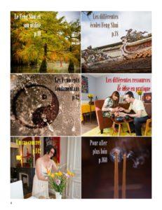 Sommaire Livre Feng Shui