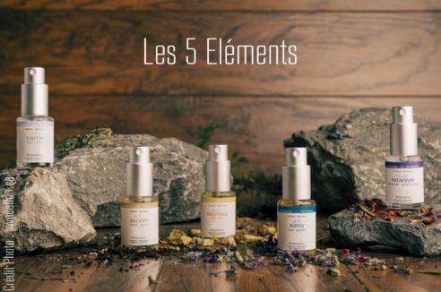 kit encens liquide Invocation «LES 5 ÉLÉMENTS» + Manuel