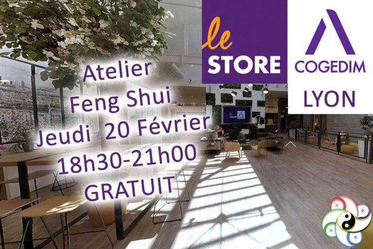 20 Février 2020 18h30 – Atelier Découverte Feng Shui – LYON (69)