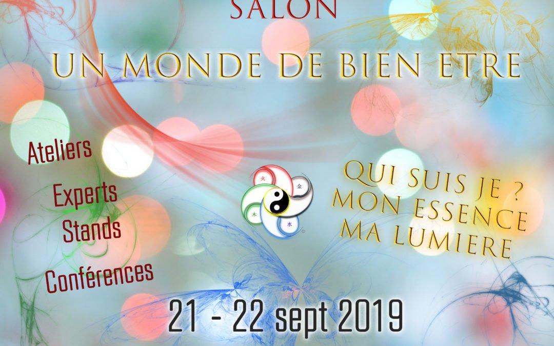 21-22 sept 2019 Salon UN MONDE DE BIEN ÊTRE