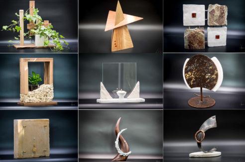 Sculptures d'Art Énergétiques par Simon Dupuis