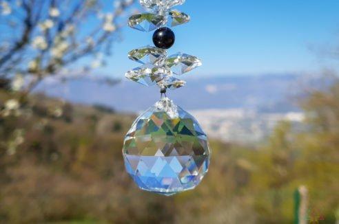 Cristal Moyen – Obsidienne