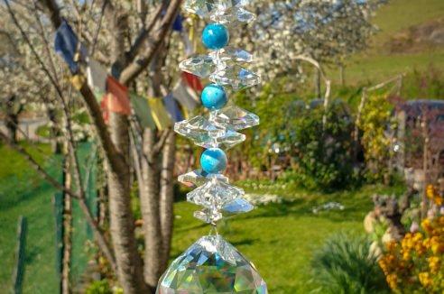 Cristal Grand – Apatite Bleue