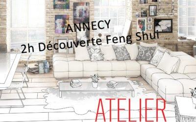 11 avril 2019 18h30 20h30 – Atelier Découverte Feng Shui ANNECY