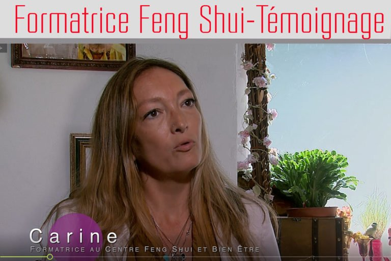 La vision de Carine Formatrice Feng Shui