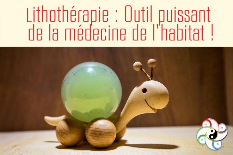 Lithothérapie : Outil puissant de la médecine de l'habitat !