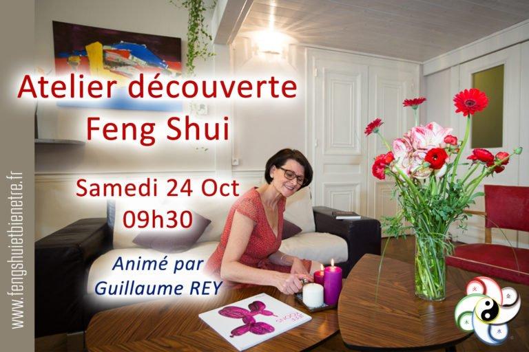 24 octobre 2020 Atelier Découverte du  Feng Shui – CHASSELAY (69)