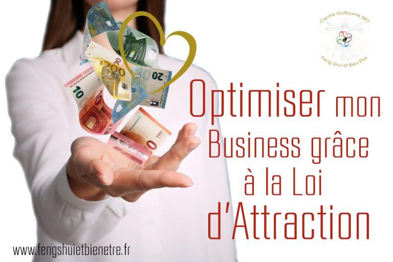 18-19-20 juin 2021 – Optimiser mon Business grâce à la Loi d'Attraction
