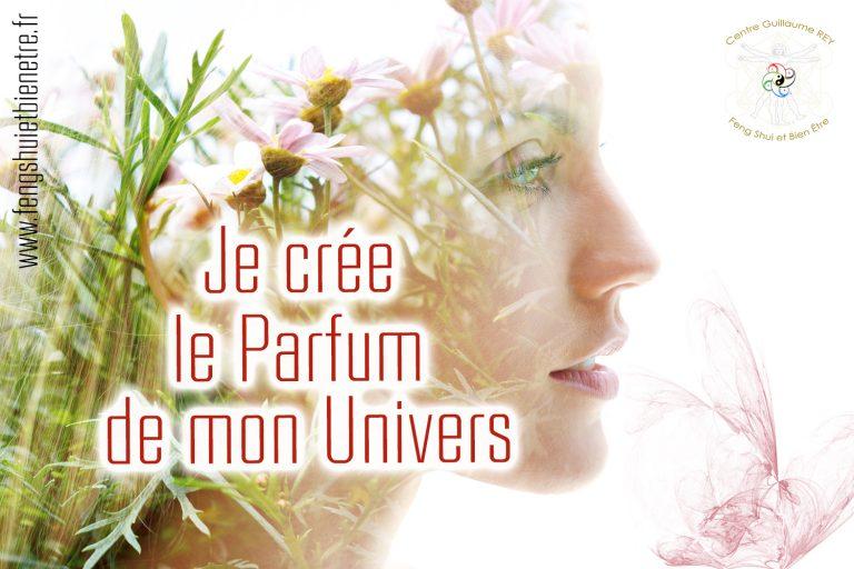 Read more about the article 25 -26 -27 juin 2021 – Je crée le Parfum de mon Univers