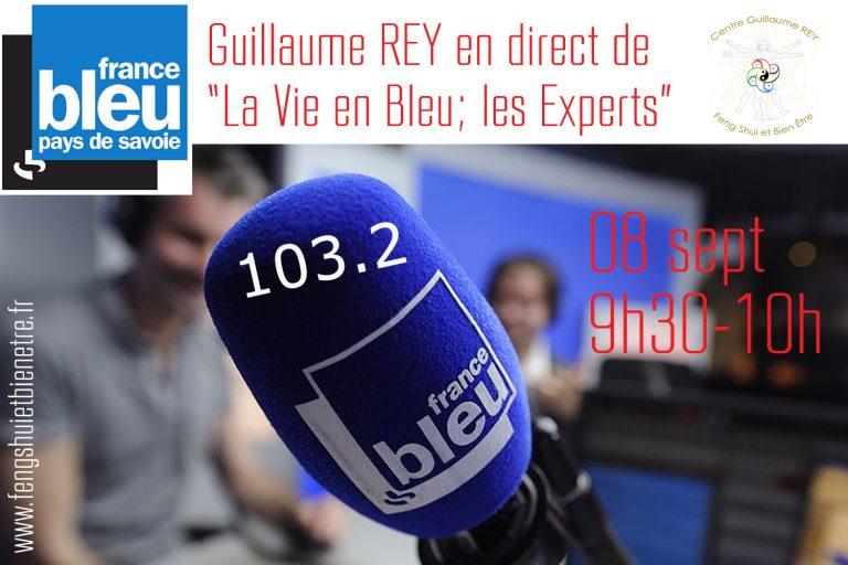 Read more about the article 08 Sept 21 – En direct de l'émission «Circuit Bleu» France Bleu Pays de Savoie 103.2