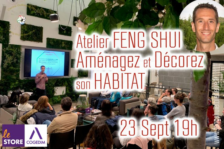 Read more about the article 23 Sept 21-19h Atelier FENG SHUI – LYON (69)